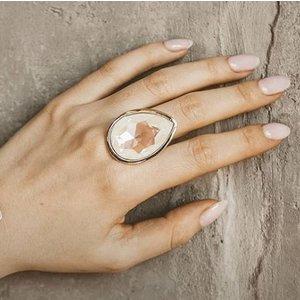UNOde50 UNOde50 Ring | MRS BEGUM | Zilver | INDIA | SS20