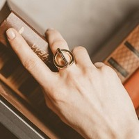 UNOde50 UNOde50 Ring | ON / OFF | GOLD | CHINA | SS20