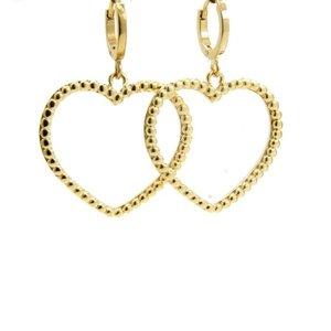 LILLY LILLY Oorbellen |  Big Heart Balls | Gold | 18 Karaats