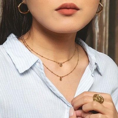 UNOde50 UNOde50  Ketting | MY GUIDE | GOUD | SS19 | COL1380ORO0000U