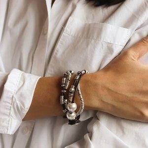 UNOde50 UNOde50 Armband | ORION | Parel | Zilver