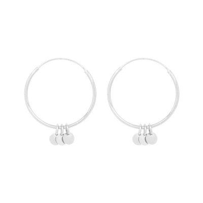 MIAB Jewels MIAB Oorbellen | Zilver | Big Roundy Rounds