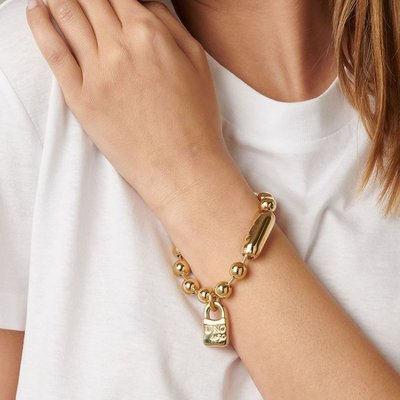 UNOde50 UNOde50 Armband | SNOWFLAKE | GOLD | PUL1215ORO0