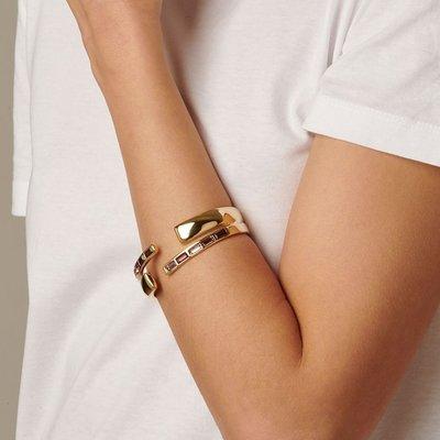 UNOde50 UNOde50 Armband | NIGHTBIRD WRAP | GOLD | PURPLE | JAPAN | PUL1890MOROR0