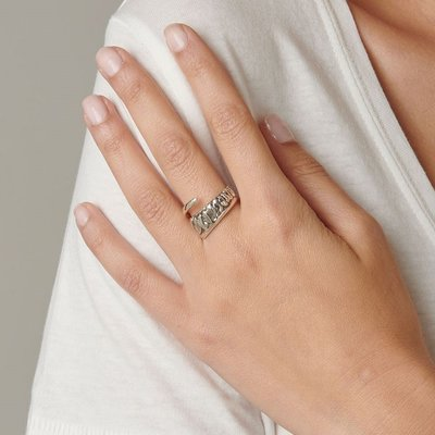 UNOde50 UNOde50 Ring | A TICKLE WITH A FEATHER | Zilver | JAPAN | SS20 | ANI0622MTL0