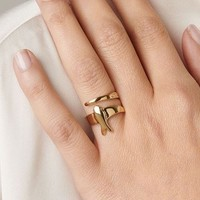 UNOde50 UNOde50 Ring | COME FLY WITH ME | VERGULD | JAPAN | SS20