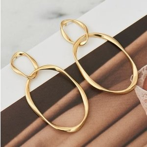 ANIA HAIE ANIA HAIE Earrings | SWIRL NEXUS | GOLD