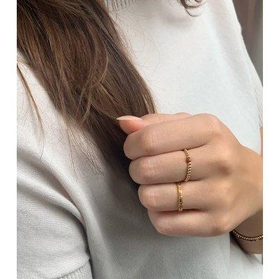 MIAB Jewels MIAB Ring   Goud   Bloom