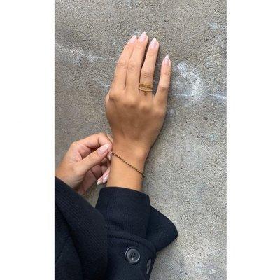MIAB Jewels MIAB Ring | Goud | Bold Stripes