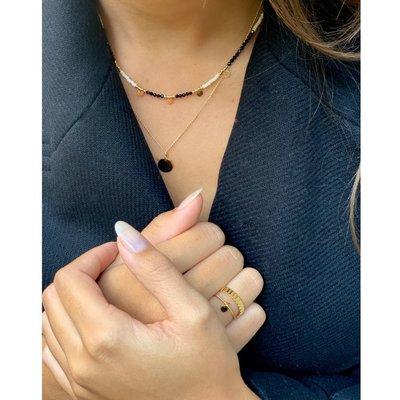 MIAB Jewels MIAB Ring | Zilver | Bold Stripes