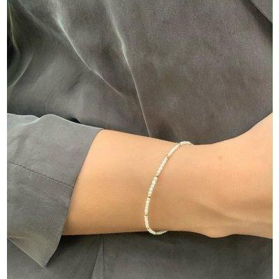 MIAB Jewels MIAB Armband | Goud | Mini Pearl | 14k Gold Filled