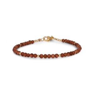 MIAB Jewels MIAB Armband | Goud | Starstone