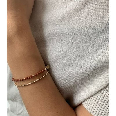 MIAB Jewels MIAB Armband   Goud   Starstone   14k Gold Filled