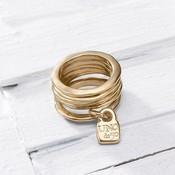UNOde50 UNOde50 Ring | PRISONER | GOLD | ANI0057ORO000