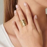 UNOde50 UNOde50  Ring | TORNADO | GOLD