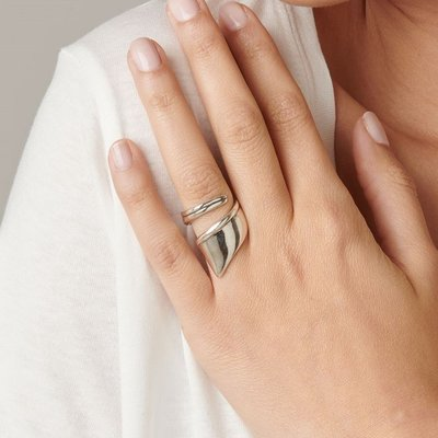 UNOde50 UNOde50 Ring | LIGHT AS A FEATHER | Zilver | JAPAN | ANI0624MTL0
