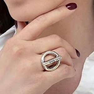 UNOde50 UNOde50 Ring | ON / OFF | Zilver | CHINA | SS20