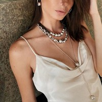 UNOde50 UNOde50  Ketting | LONELY PLANET | ZILVER | MY ENERGY FW19