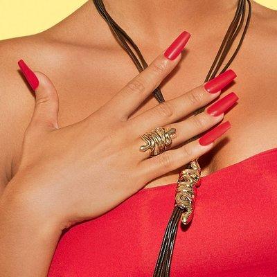 UNOde50 UNOde50 Ring   MRS BHIKAIJI    VERGULD   INDIA   ANI0643ORO000