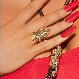 UNOde50 UNOde50 Ring | MRS BHIKAIJI  | GOLD | INDIA | SS20