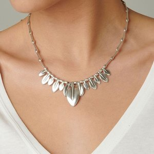 UNOde50 UNOde50  Ketting | FULL OF LIFE | ZILVER | MY NATURE FW19