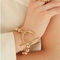 UNOde50 UNOde50 Armband | ON / OFF | GOLD | CHINA SS20