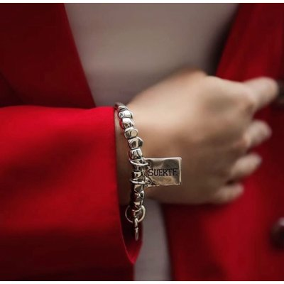 UNOde50 UNOde50 Armband   LUCKY   Zilver   Elastisch   PUL1210MTL0000M