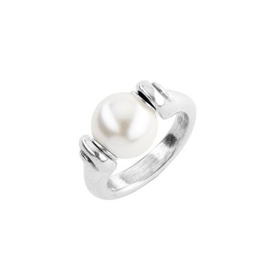 UNOde50 UNOde50 Ring | MOODY | ZILVER PAREL | ANI0662BPLMTL