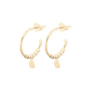 MIAB Jewels MIAB Oorbellen | Goldfilled | Hanging Hoop