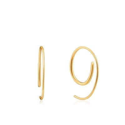 ANIA HAIE ANIA HAIE Earrings | TWIST TROUGH | GOLD | E023-08G