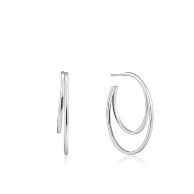 ANIA HAIE ANIA HAIE Earrings   CRESCENT   ZILVER   E023-10H
