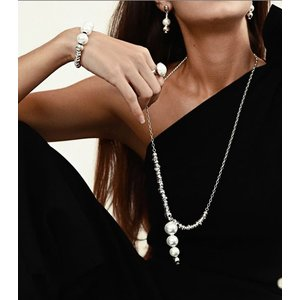UNOde50 UNOde50  Ketting | LORDLY | ZILVER PAREL | BALANCE FW20
