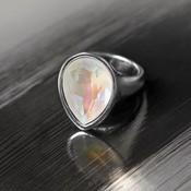UNOde50 UNOde50 Ring   MRS BEGUMS SOUL   Zilver   INDIA   ANI0633BLNMTL