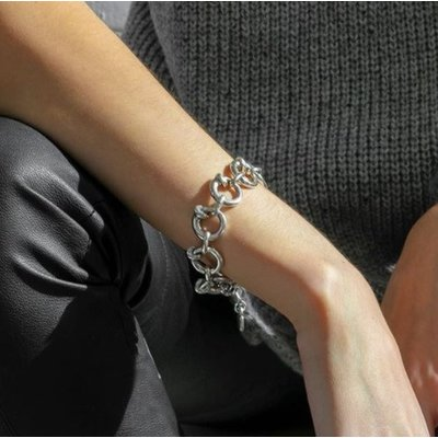 UNOde50 UNOde50 Armband | NAIL ON THE HEAD | ZILVER | SS19 | PUL1805MTL0000M