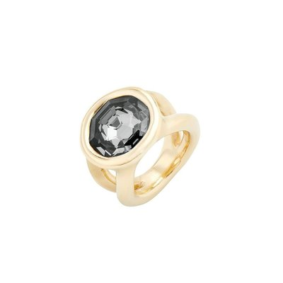 UNOde50 UNOde50 Ring | ON MY OWN | GOLD KRISTAL | ANI0654GRSORO