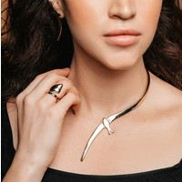UNOde50 UNOde50 Ketting   FLY ME TO THE MOON   GOLD   JAPAN SS20