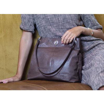 CHABO BAGS CHABO BAGS | CHAIN BAG BIG | ELEPHANT GREY