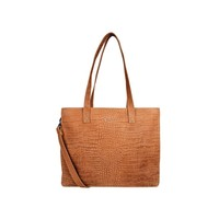 CHABO BAGS CHABO BAGS | WORKER CROCO MADRID | CAMEL