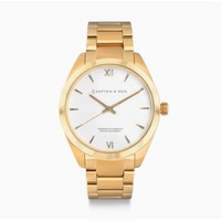 KAPTEN & SON KAPTEN & SON Horloge | CRUSH | GOLD STEEL | 36 MM