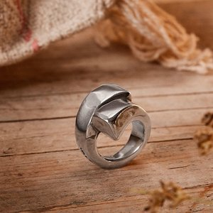 UNOde50 UNOde50  Ring | SILVERY-LOCKS | Zilver