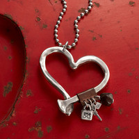 UNOde50 UNOde50 Ketting | LOVE AT FIRST SIGHT | Zilver | Hart