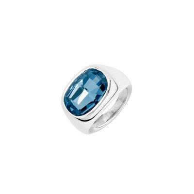 UNOde50 UNOde50 Ring | LIGHT IT UP | ZILVER KRISTAL | ANI0681AZUMTL
