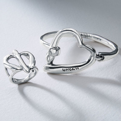 UNOde50 UNOde50 Armband | HEARTBEATS | ZILVER | PUL2069MTLMTL