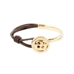 UNOde50 UNOde50 Armband | MY BUTTON | VERGULD | THREAD OF LIFE SS21