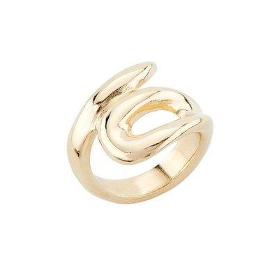 UNOde50 UNOde50 Ring | TANGLED | VERGULD | ANI0675OROORO