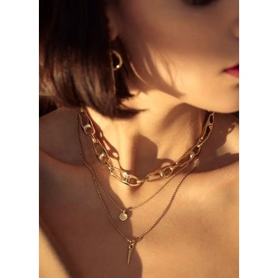 UNOde50 UNOde50  Ketting | BE THE ONLY ONE | VERGULD | COL1576ORO0000U