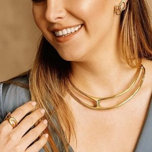 UNOde50 UNOde50  Ketting   THE ONE   VERGULD   GLAM SS21