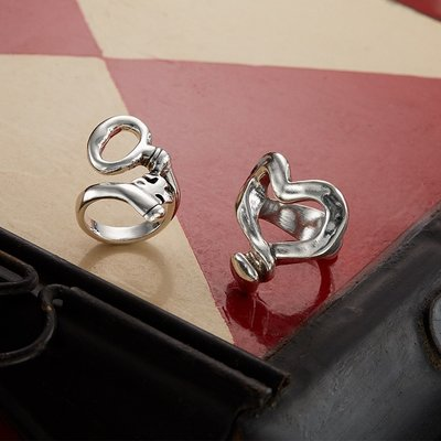 UNOde50 UNOde50  Ring | NOW YOU SEE | Sleutel ring | ANI0407MTL000