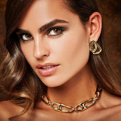 UNOde50 UNOde50  Ketting   CONNECTED   VERGULD   COL1575ORO0000U
