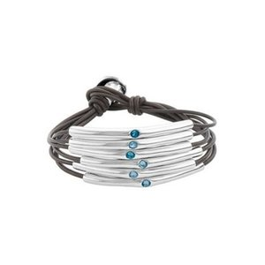 UNOde50 UNOde50 Armband | HAPPY BLUE | FREEDOM SS21